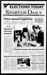 Spartan Daily, March 22, 2001 by San Jose State University, School of Journalism and Mass Communications