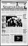 Spartan Daily, April 3, 2001 by San Jose State University, School of Journalism and Mass Communications