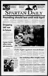 Spartan Daily, April 5, 2001 by San Jose State University, School of Journalism and Mass Communications