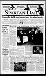 Spartan Daily, April 12, 2001 by San Jose State University, School of Journalism and Mass Communications