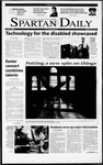 Spartan Daily, April 13, 2001 by San Jose State University, School of Journalism and Mass Communications
