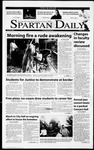 Spartan Daily, April 19, 2001 by San Jose State University, School of Journalism and Mass Communications