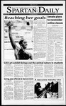 Spartan Daily, April 20, 2001 by San Jose State University, School of Journalism and Mass Communications