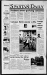 Spartan Daily, August 27, 2001 by San Jose State University, School of Journalism and Mass Communications
