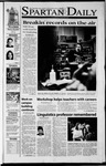 Spartan Daily, September 10, 2001 by San Jose State University, School of Journalism and Mass Communications