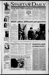 Spartan Daily, September 11, 2001 by San Jose State University, School of Journalism and Mass Communications