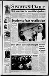 Spartan Daily, September 13, 2001 by San Jose State University, School of Journalism and Mass Communications