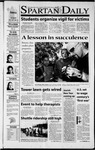 Spartan Daily, September 14, 2001 by San Jose State University, School of Journalism and Mass Communications