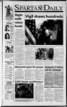 Spartan Daily, September 17, 2001 by San Jose State University, School of Journalism and Mass Communications