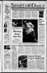Spartan Daily, September 18, 2001 by San Jose State University, School of Journalism and Mass Communications