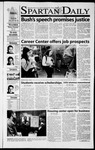 Spartan Daily, September 21, 2001 by San Jose State University, School of Journalism and Mass Communications
