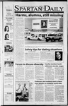 Spartan Daily, September 25, 2001 by San Jose State University, School of Journalism and Mass Communications