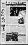 Spartan Daily, October 1, 2001 by San Jose State University, School of Journalism and Mass Communications