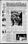 Spartan Daily, October 2, 2001 by San Jose State University, School of Journalism and Mass Communications