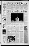 Spartan Daily, October 3, 2001 by San Jose State University, School of Journalism and Mass Communications