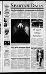 Spartan Daily, October 4, 2001 by San Jose State University, School of Journalism and Mass Communications