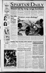 Spartan Daily, October 8, 2001 by San Jose State University, School of Journalism and Mass Communications