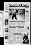 Spartan Daily, October 10, 2001 by San Jose State University, School of Journalism and Mass Communications