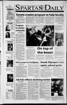 Spartan Daily, October 11, 2001 by San Jose State University, School of Journalism and Mass Communications