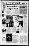 Spartan Daily, October 16, 2001 by San Jose State University, School of Journalism and Mass Communications