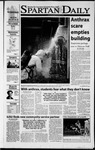 Spartan Daily, October 17, 2001 by San Jose State University, School of Journalism and Mass Communications
