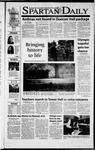 Spartan Daily, October 18, 2001 by San Jose State University, School of Journalism and Mass Communications