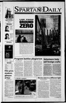 Spartan Daily, October 19, 2001 by San Jose State University, School of Journalism and Mass Communications
