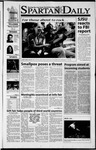 Spartan Daily, October 22, 2001