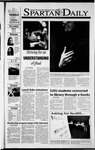 Spartan Daily, October 25, 2001 by San Jose State University, School of Journalism and Mass Communications