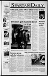 Spartan Daily, October 30, 2001 by San Jose State University, School of Journalism and Mass Communications