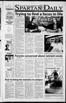Spartan Daily, October 31, 2001 by San Jose State University, School of Journalism and Mass Communications
