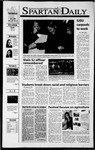 Spartan Daily, November 1, 2001 by San Jose State University, School of Journalism and Mass Communications