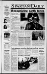 Spartan Daily, November 5, 2001 by San Jose State University, School of Journalism and Mass Communications