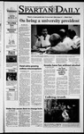 Spartan Daily, November 7, 2001 by San Jose State University, School of Journalism and Mass Communications