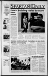 Spartan Daily, November 8, 2001 by San Jose State University, School of Journalism and Mass Communications