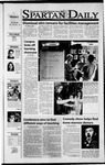 Spartan Daily, November 12, 2001 by San Jose State University, School of Journalism and Mass Communications