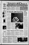 Spartan Daily, November 13, 2001 by San Jose State University, School of Journalism and Mass Communications