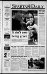 Spartan Daily, November 14, 2001 by San Jose State University, School of Journalism and Mass Communications