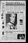 Spartan Daily, December 11, 2001