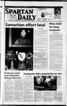 Spartan Daily, January 29, 2002 by San Jose State University, School of Journalism and Mass Communications