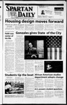 Spartan Daily, February 7, 2002 by San Jose State University, School of Journalism and Mass Communications
