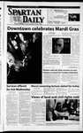 Spartan Daily, February 13, 2002 by San Jose State University, School of Journalism and Mass Communications