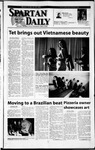 Spartan Daily, February 18, 2002 by San Jose State University, School of Journalism and Mass Communications