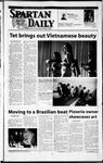 Spartan Daily, February 18, 2002