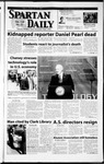 Spartan Daily, February 22, 2002 by San Jose State University, School of Journalism and Mass Communications