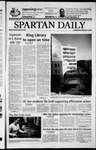 Spartan Daily, February 19, 2003 by San Jose State University, School of Journalism and Mass Communications