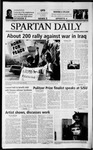 Spartan Daily, March 3, 2003 by San Jose State University, School of Journalism and Mass Communications
