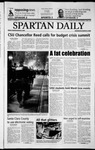 Spartan Daily, March 5, 2003 by San Jose State University, School of Journalism and Mass Communications