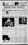 Spartan Daily, March 7, 2003