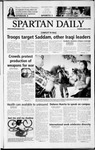Spartan Daily, April 8, 2003 by San Jose State University, School of Journalism and Mass Communications